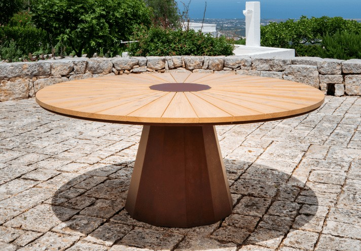 corten-forniture-SPICA | Corten table-TT0658000
