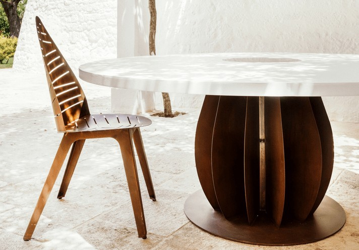 corten-forniture-IRIDE | Corten table-TT0661000
