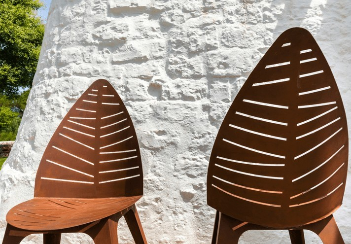Lila Corten Chair Trackdesign