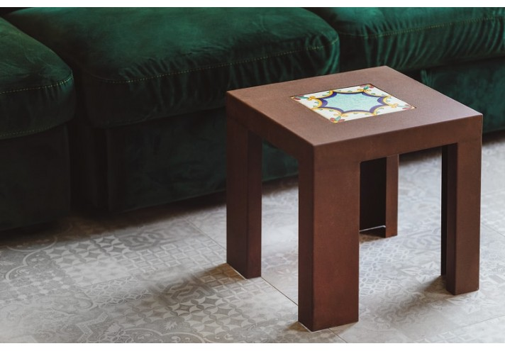 UGO | Tavolino in corten