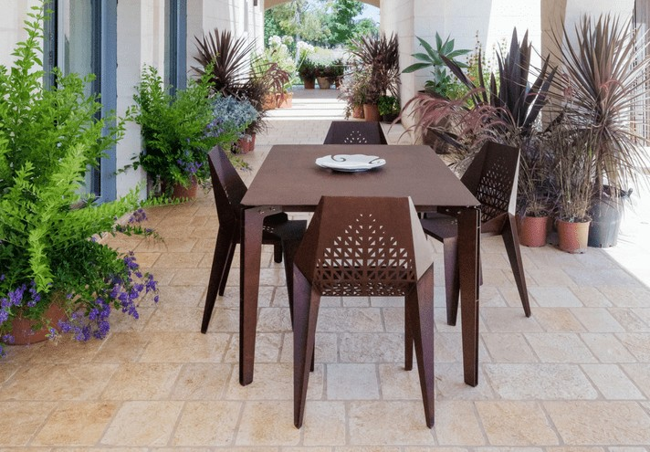corten-forniture-LEGGERO | Corten table-TT0646000