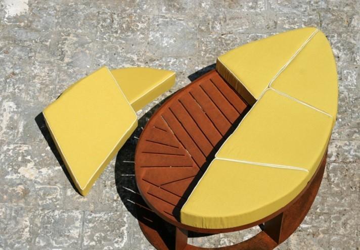 corten-arredamento-LILA | Pouf in corten-DP0303000