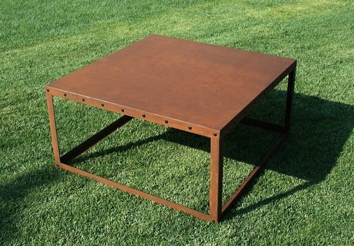 corten-forniture-CUBE | Corten coffee table-TT0745000