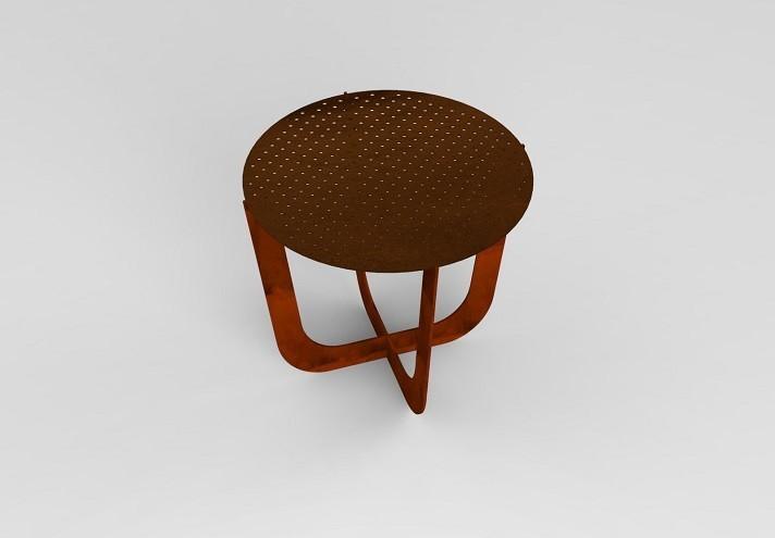 corten-arredamento-COFFEE | Tavolino in corten-TT0747001